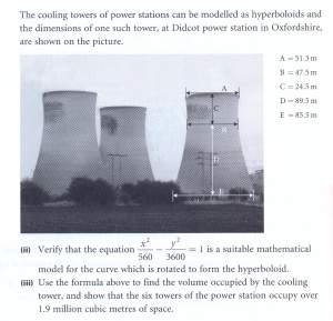 my mum wrote Maths text books, and I think Didcot wheedled its way into her subconscious too!