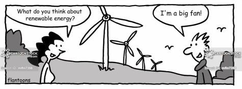 'What do you think about renewable energy?'